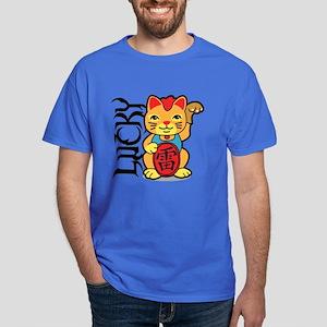 Lucky Cat Dark T-Shirt