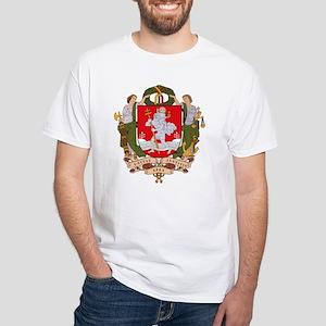 Vilnius Coat of Arms White T-Shirt