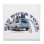 Big Boys Toys Tile Coaster