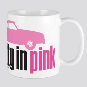 Pretty in Pink Car 11 oz Ceramic Mug