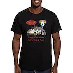 SuperSized Fun Men's Fitted T-Shirt (dark)