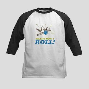 How I Roll Kids Baseball Jersey