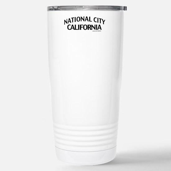 National City Stainless Steel Travel Mug