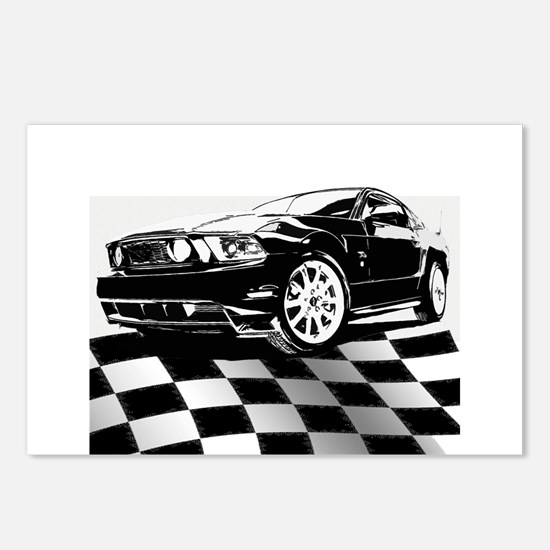 2011 Mustang Flag Postcards (Package of 8)