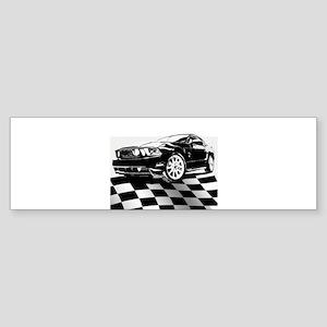 2011 Mustang Flag Sticker (Bumper)