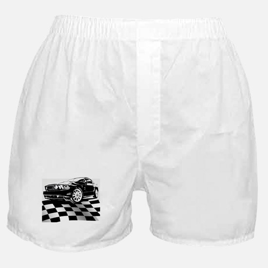 2011 Mustang Flag Boxer Shorts