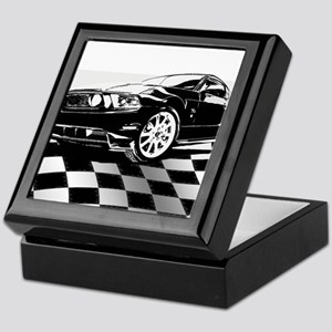 2011 Mustang Flag Keepsake Box