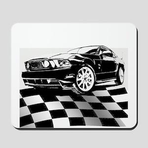 2011 Mustang Flag Mousepad