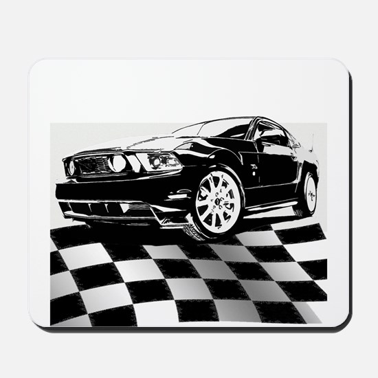 2011 Mustang Flag Mousepad