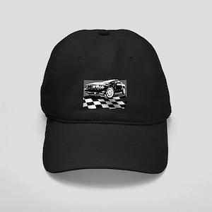 2011 Mustang Flag Black Cap