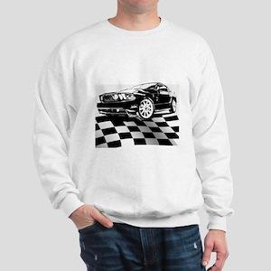 2011 Mustang Flag Sweatshirt