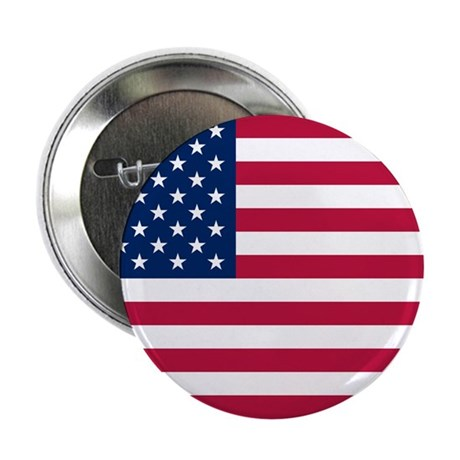 "US Flag 2.25"" Button"