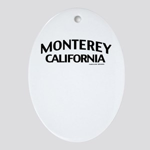 Monterey Ornament (Oval)