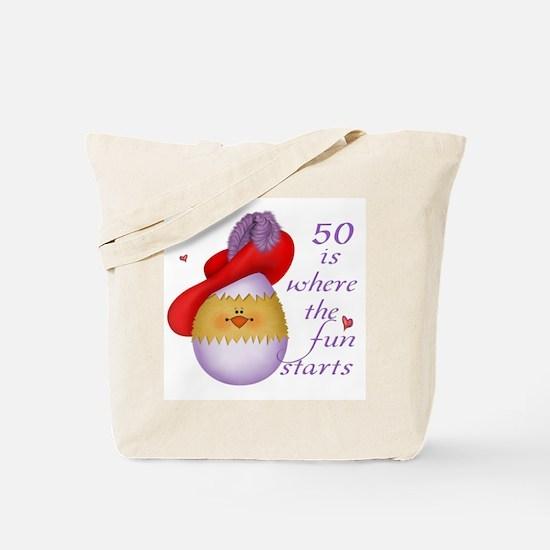 Red Hat 50 Fun Tote Bag