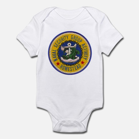 NAVAL SECURITY GROUP ACTIVITY, HOM Infant Bodysuit