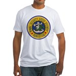 NAVAL SECURITY GROUP ACTIVITY, HOME Fitted T-Shirt