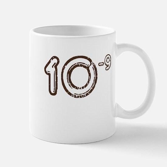 10 (-9 power, brown) Mug