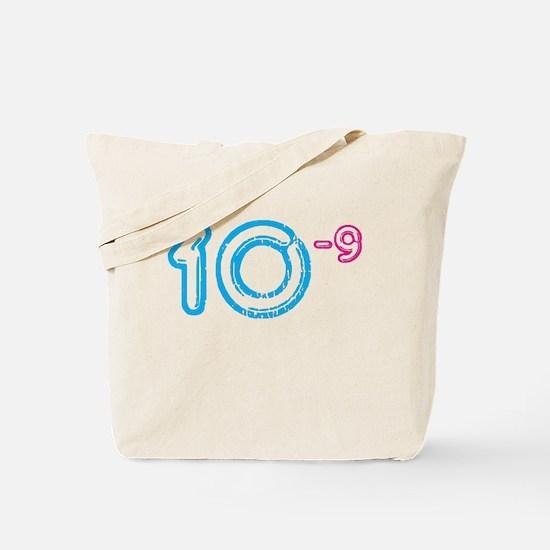 10 (-9 power, blue) Tote Bag