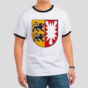 Schleswig Holstein Coat of Ar Ringer T