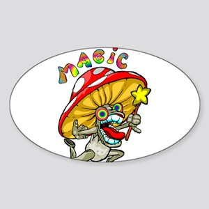 Magic Sticker (Oval)