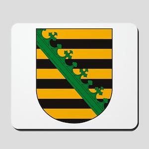 Saxony Coat of Arms Mousepad
