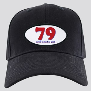 79 years never looked so good Black Cap
