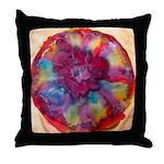Silk Mandala 2 - Throw Pillow