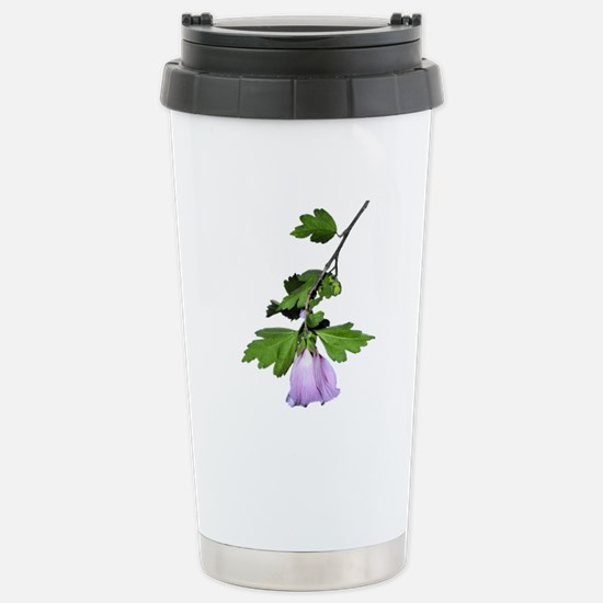Rose of Sharon Stainless Steel Travel Mug