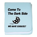 Come to the Darkside baby blanket