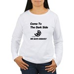 Come to the Darkside Women's Long Sleeve T-Shirt