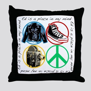 Ed Is Throw Pillow