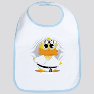 Karate Duck Bib