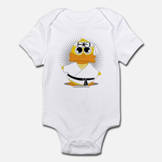 Karate Duck Infant Bodysuit