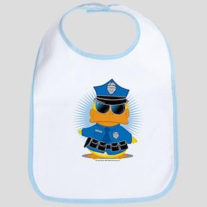 Police Duck Bib