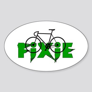 Fixie Sticker (Oval)