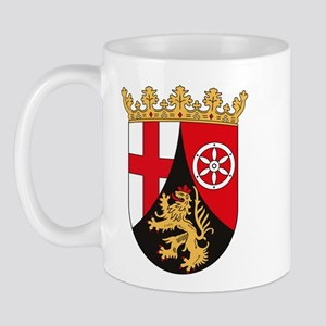 Rheinland Pfalz Coat of Arms Mug