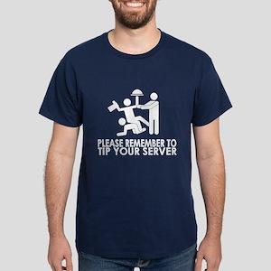 Tip Your Server Dark T-Shirt
