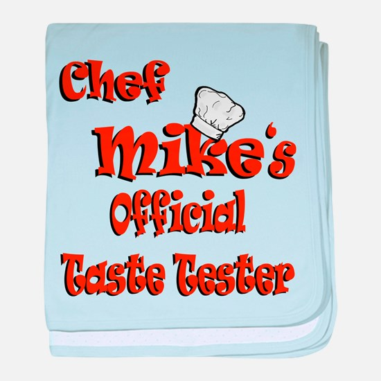 Chef Mike baby blanket
