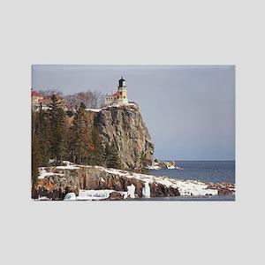 Split Rock Lighthouse Rectangle Magnet