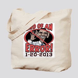 End of Error Anti-Obama Tote Bag