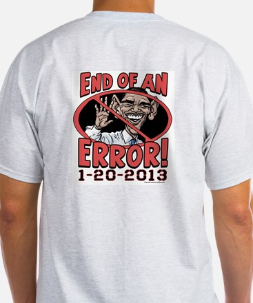 End of Error 2 Sided T-Shirt