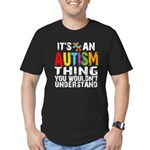 Autism Thing Men's Fitted T-Shirt (dark)