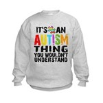Autism Thing Kids Sweatshirt