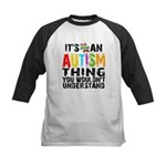 Autism Thing Kids Baseball Jersey