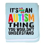 Autism Thing baby blanket