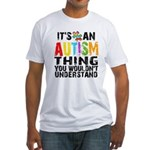 Autism Thing Fitted T-Shirt