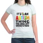 Autism Thing Jr. Ringer T-Shirt