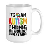 Autism Thing Large Mug