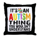 Autism Thing Throw Pillow