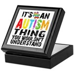 Autism Thing Keepsake Box